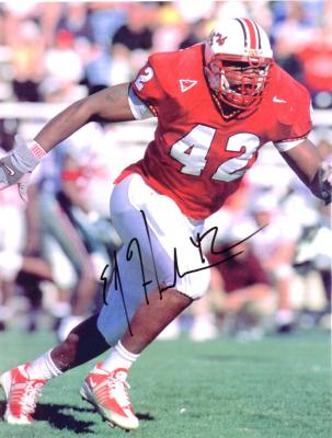 E.J. Henderson autographed Maryland 8x10 photo
