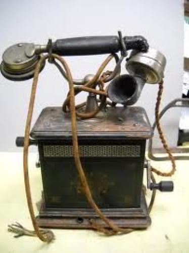 Militaria; German World War Two Hand Held Telephone