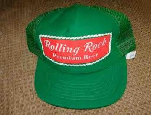 Breweriana; Snapback cap from the 1980s on the 'bay