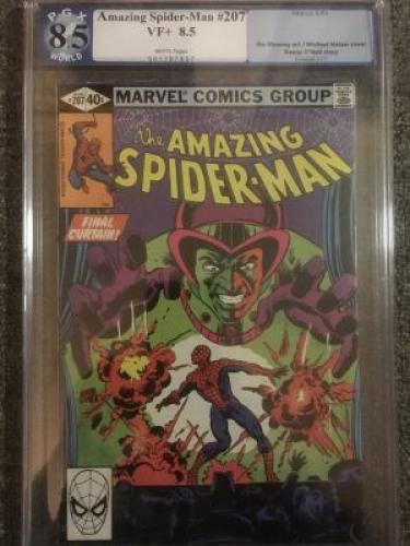 Amazing Spider-Man #207  *PGX 8.5