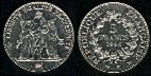 5 francs; Year: 1996; (km 1155); Hercules group