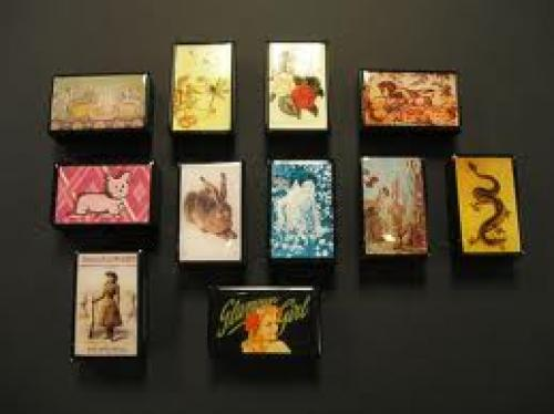 Matchboxes; The Paint Chip in Davis