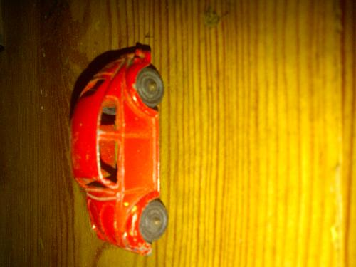 Vtg. Tootsie Toy Car VW Bug 1970&#039;s