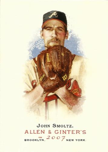 2007 Topps Allen and Ginter #79 ~ John Smoltz