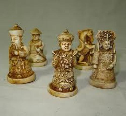 Antique Asian; Figurines