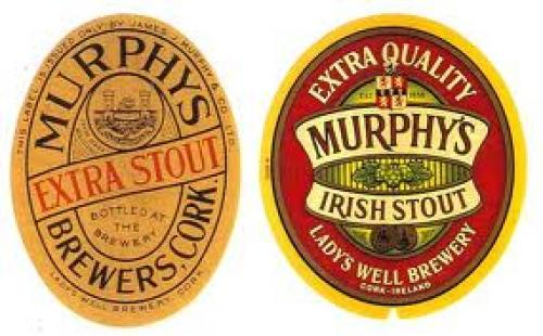 Vintage Irish Beer Labels