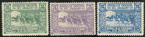 Sarandi battle 3v; Year: 1925
