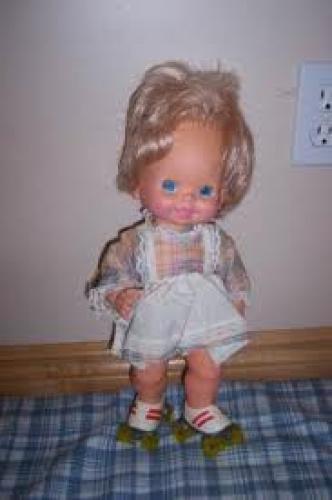Dolls; 1980 Mattel Baby Skates doll