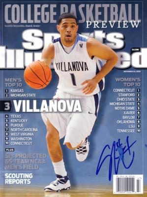 Scottie Reynolds autographed Villanova 2009 Sports Illustrated