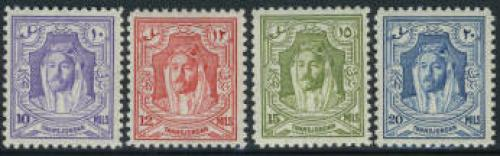 Definitives 4v; Year: 1947