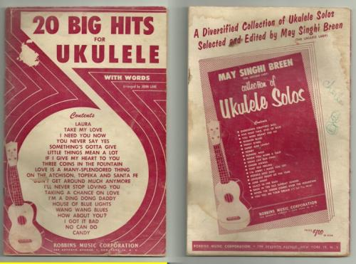 20 Big Hits for Ukulele
