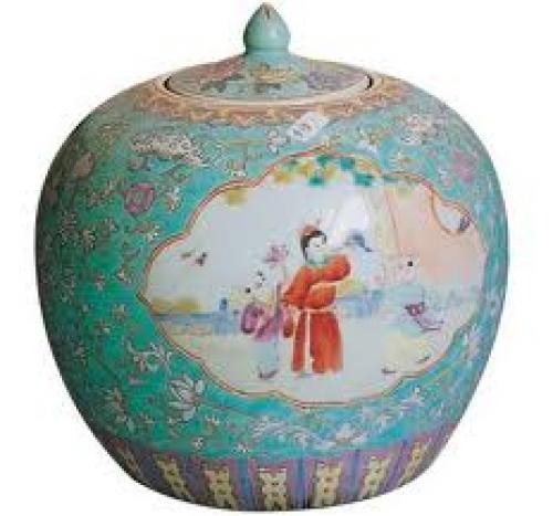 Orient Antique; Antique Chinese Jar