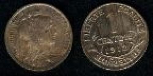 1 centime; Year: 1898-1920; (km 840)