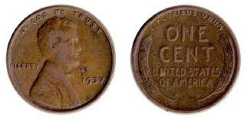 Coin; USA coin Year: 1937‑wheat‑penny ;front‑and‑back