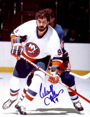 Clark Gillies autographed New York Islanders 8x10 photo