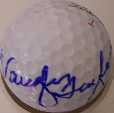 Vaughn Taylor autographed 2012 Farmers Insurance Open Titleist golf ball