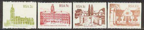 Definitives, coil stamps 4v; Year: 1982