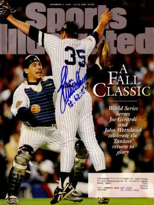 John Wetteland autographed New York Yankees 1996 World Series Sports Illustrated