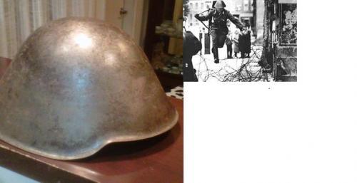 Casco Aleman DDR Deutche helmet DDR