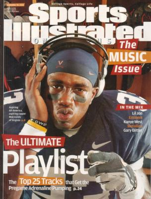 Wali Lundy 2004 Virginia Sports Illustrated on Campus magazine