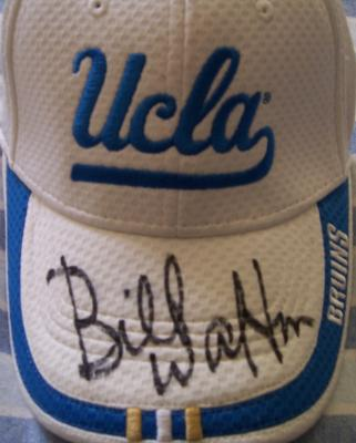 Bill Walton autographed UCLA cap
