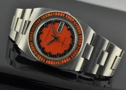Watches; 1970&#039;s WITTNAUER diver&#039;s watch is a large and exotic watch
