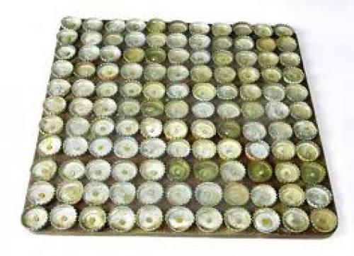 Crafts; Handmade bottle cap door mats