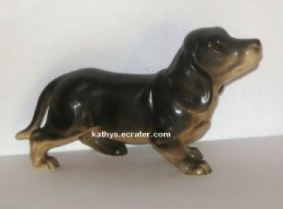 Ceramic 1550 Dachshund Puppy Dog Animal Figurine