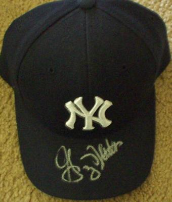 Graig Nettles autographed New York Yankees cap