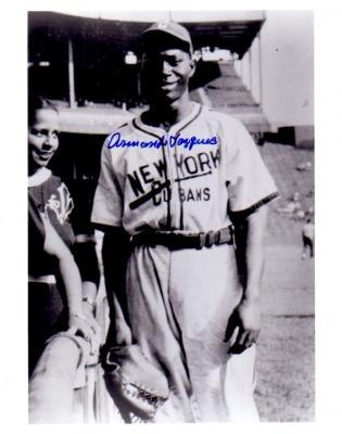 Armondo Vazquez autographed New York Cubans 8x10 photo