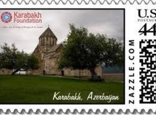 Stamps; 44c; Stamps dedicated to Karabakh issued in USA