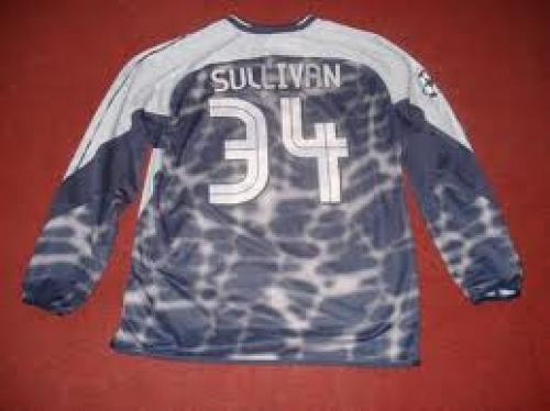 Memorabilia Sports; Football Memorabilia Shirt of Chelsea Goal Keeper Sullivan, Match Worn