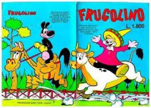 Comics;Privitera_frugolino mainly active in the Italian comics field during the 1950s and 1960s