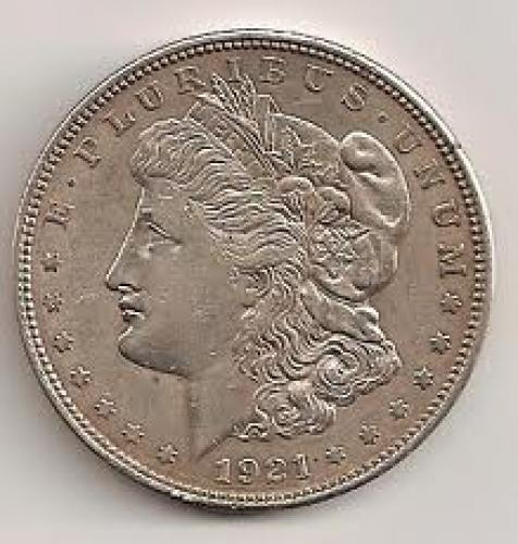 Coins; Moneda Usa 1 Dollar 1921