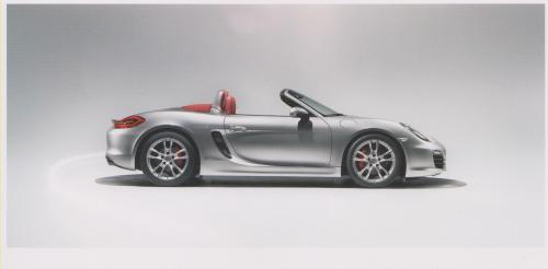 Porsche Boxster S postcard