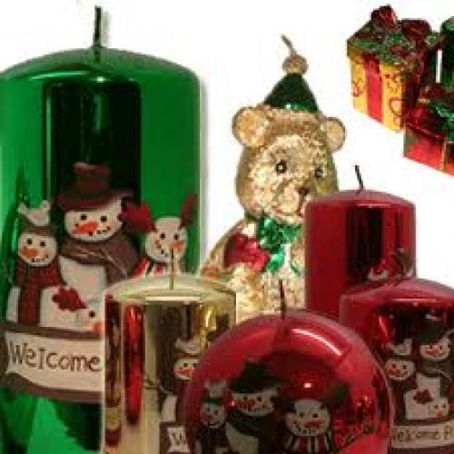 Christmas Decorative Candles