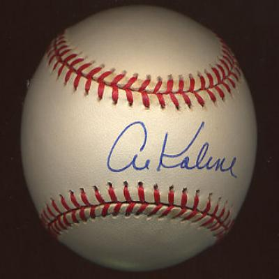 Al Kaline autographed MLB baseball