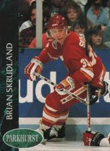 Hockey Card; Brian Skrudland Calgary