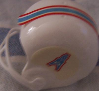 Houston Oilers vending machine mini helmet