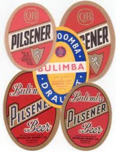 Australian Beer Labels, Bulimba