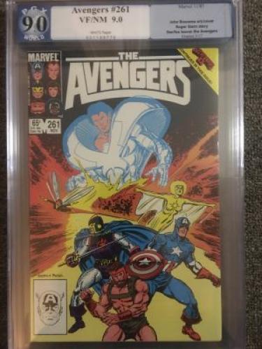 Avengers #261  *PGX 9.0