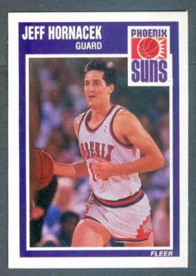 Jeff Hornacek 1989-90 Fleer Rookie Card