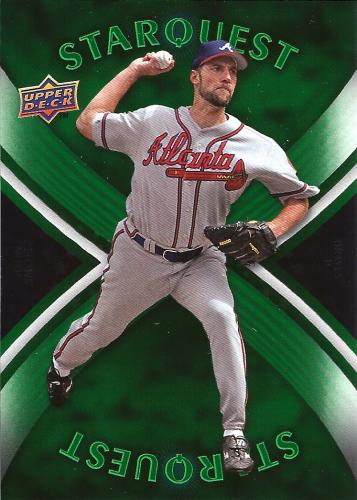 2008 Upper Deck First Edition Star Quest #SQ-50 ~ John Smoltz
