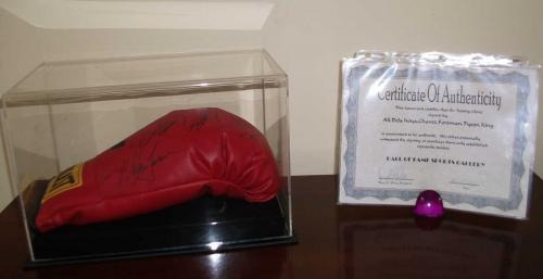 Signed Boxing Glove