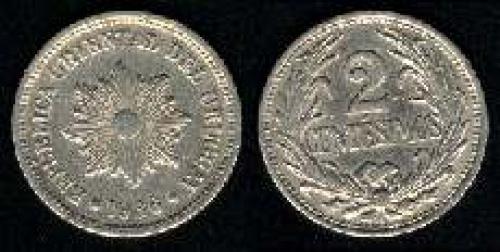 2 centesimos 1901-1951 (km 20)