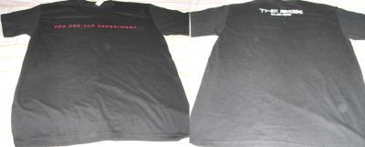 The Box movie promo T-shirt (Cameron Diaz & James Marsden)