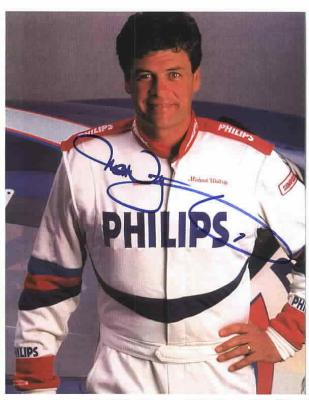 Michael Waltrip (NASCAR) autographed 8 1/2 x 11 color photo
