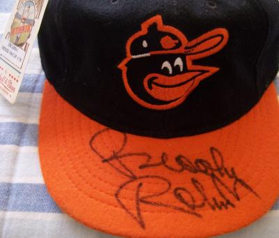 Brooks Robinson autographed Baltimore Orioles 1966 authentic game model cap