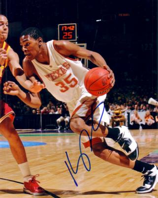Kevin Durant autographed Texas Longhorns 8x10 photo