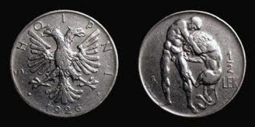 Coin; Albania, 1926 , Rome mint,  Lek